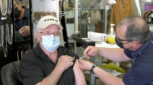 Low vaccination rates in rural communities affecting urban hospitals