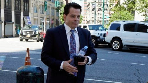 Scaramucci tells banker trial jury about Trump's transition