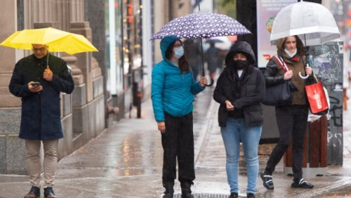 Heavy rain and a big pattern change on the way for the weekend