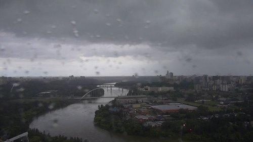 Thunderstorm risk for Edmonton area