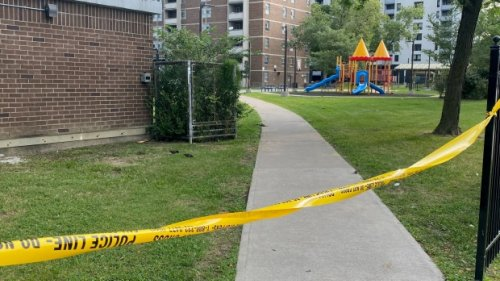 12-year-old seriously injured after shooting near North York playground