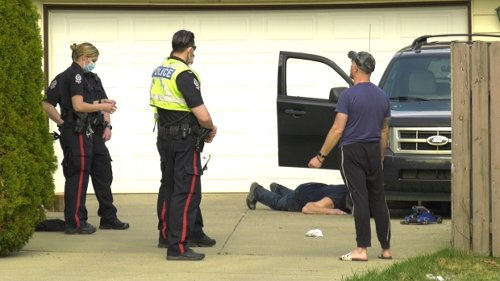 Woman run over by SUV driver on northeast Edmonton driveway