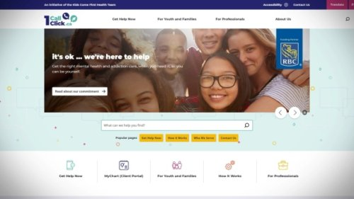 New website hopes to make finding the right mental health care for kids and youth easier
