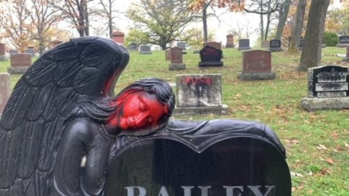 Residents fuming as tombstones vandalized at Trenton, Ont. area cemeteries