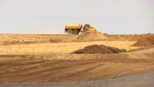 Canada's largest solar project under construction in Vulcan County