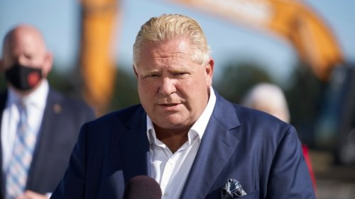 Doug Ford says opposition is playing politics over his 'bang on' comments about immigrants