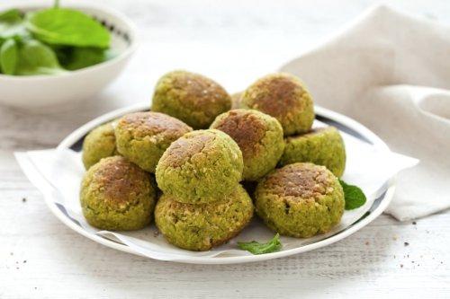 Ricetta Falafel green