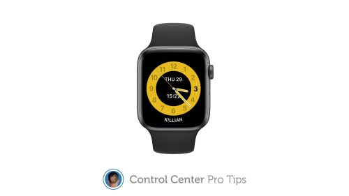 Enable Schooltime inside Control Center on Apple Watch [Pro tip]