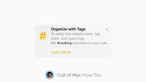 How to use tags to keep Notes organized in iOS 15 and macOS Monterey
