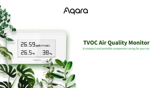 Monitor air quality with Aqara's new accessory for HomeKit