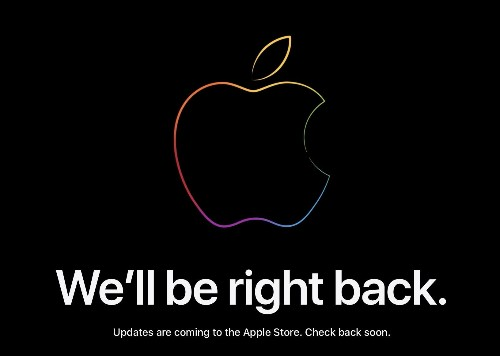 Be right back: Apple Online Store goes down ahead of today's event