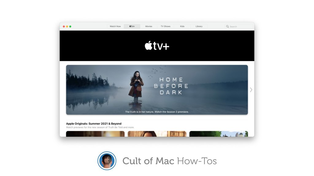 Apple TV + - cover