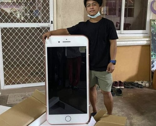 Man buys iPhone 7 online, receives table instead | Cult of Mac