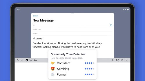 Grammarly's free app warns you before sending rude texts