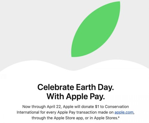 Earth Day Apple Pay promotion donates funds to conservation charity | Cult of Mac