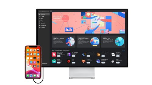 An iPhone running macOS apps could be all the computer you need
