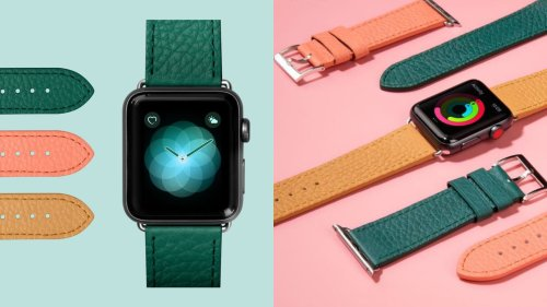 Get set for summer with colorful leather bands for Apple Watch | Cult of Mac