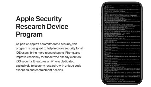 Apple starts shipping out special iPhones to security researchers