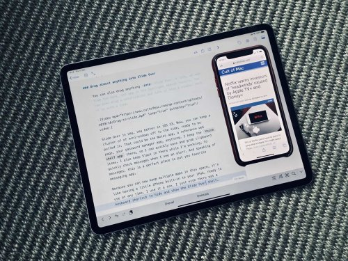 iOS 13's powerful new Slide Over features make it useful at last | Cult of Mac