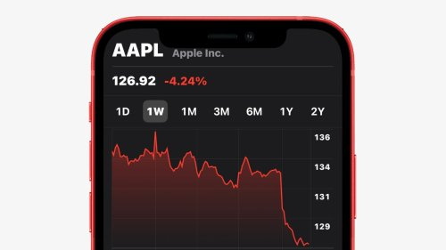 Snap up some cheap AAPL stock while it's tanking | Cult of Mac