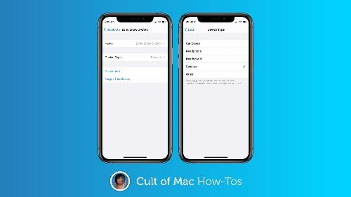 How to classify Bluetooth devices and accessories in iOS 14.4