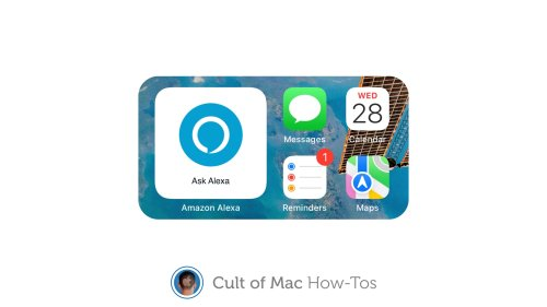 How to add Amazon's new 'Ask Alexa' widget to your iPhone's Home screen