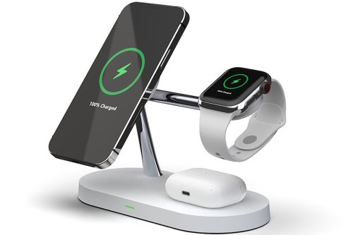Clean up your workspace with this 5-in-1 charging stand from MagSafe
