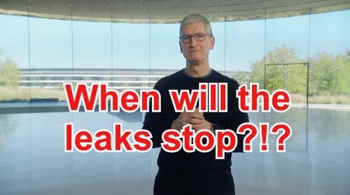 Apple intensifies its war on leakers