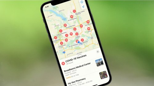 Easily find COVID-19 vaccine locations with Apple Maps | Cult of Mac