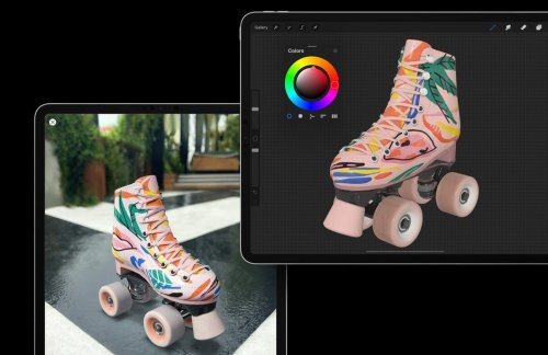 Procreate 5.2 takes painting with iPad to a whole new dimension