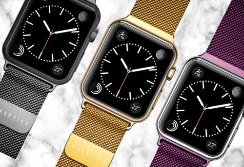 Casetify stainless steel Apple Watch bands get colorful