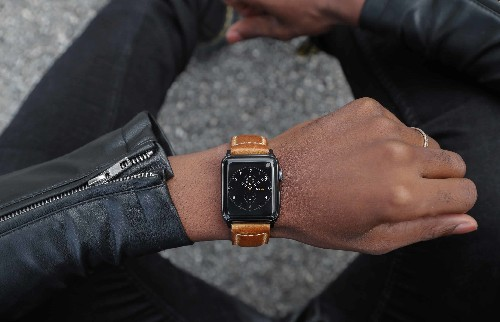 Apple Watch Series 4 deserves a serious leather strap