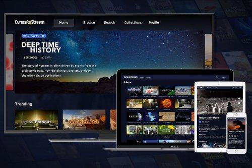 Binge watch documentaries weekly with lifetime access to CuriosityStream