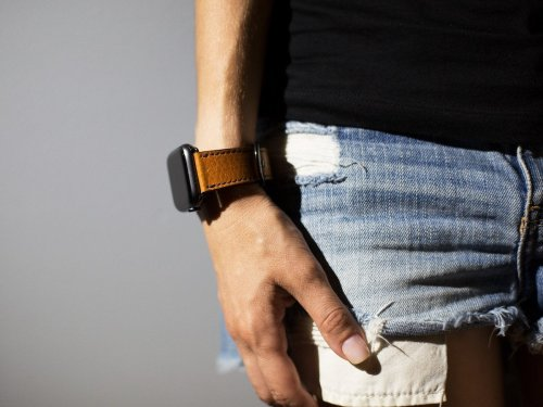Hand-crafted leather bands give Apple Watch an even greater feel