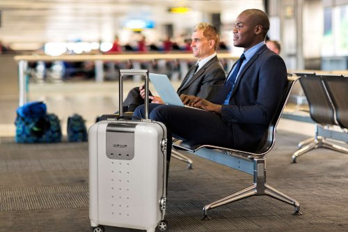 This rolling luggage keeps tech travelers plugged in | Cult of Mac