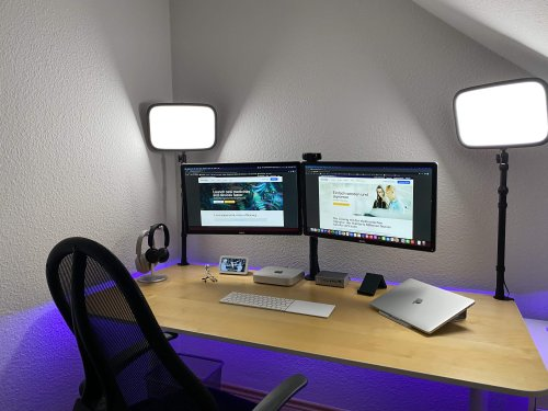 Let there be lighted Zoom calls [Setups] | Cult of Mac