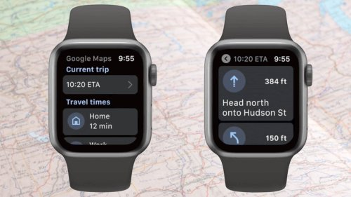 Google Maps finds its way to Apple Watch | Cult of Mac