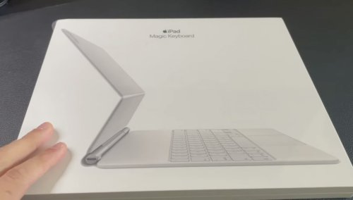 Unboxing video shows off Apple's swanky new white Magic Keyboard for iPad Pro | Cult of Mac