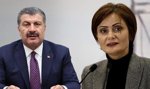 Canan Kaftancıoğlu'ndan Fahrettin Koca'ya tepki: Kendinden utanır insan