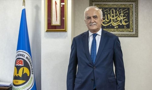 Vakıflar Genel Müdürlüğü'nün logosundan Türk bayrağını çıkardılar