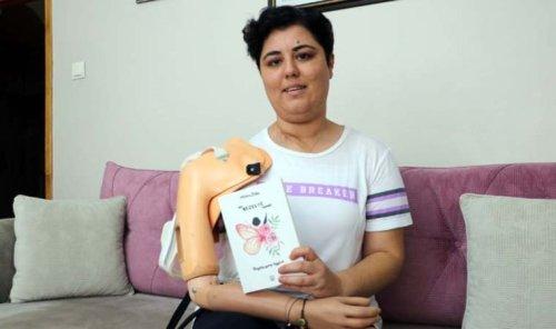 Kanser hastası Meltem, yazdığı kitapla protez koluna kavuştu
