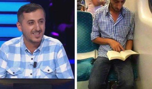 Metroda kitap okuduğu için aşağılanmıştı: Ali Uçar, Kim Milyoner Olmak İster'e katıldı