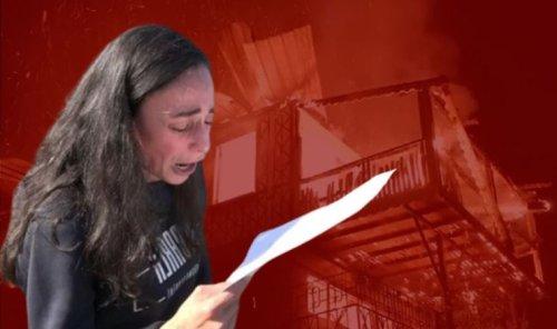 Çevreci ressamın basın açıklaması öncesi evi yandı: Kundaklama şüphesi!