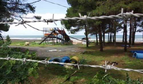 Ünye'de halk kendi sahilini kullanamıyor