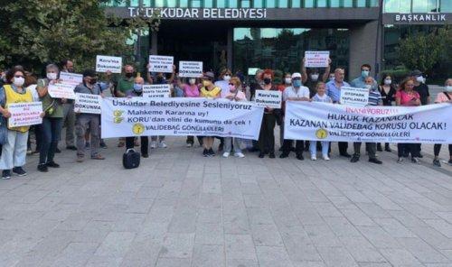 Validebağ Gönüllüleri Üsküdar Belediyesi'ne seslendi