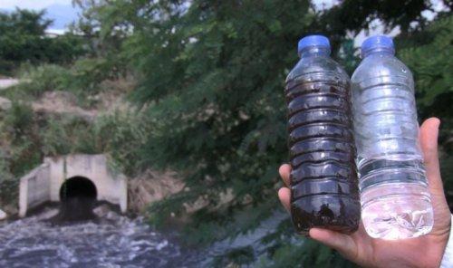 Nilüfer Çayı, atıklar nedeniyle siyaha büründü: Bu artık bir su değil