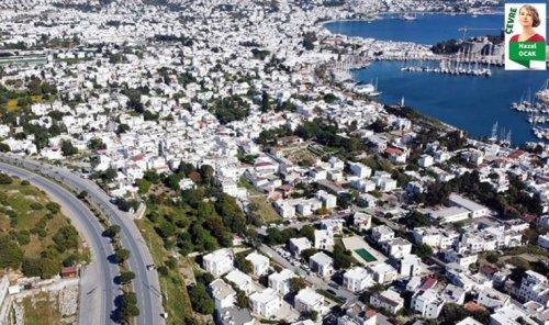 Turizm kenti Bodrum'da sıcaklık artışlarına ilişkin çarpıcı çevre raporu açıklandı