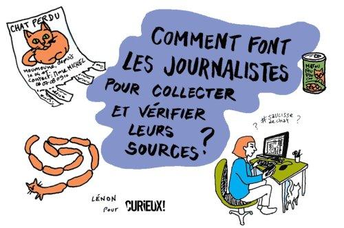Comment les journalistes collectent et vérifient leurs sources ? - Curieux!