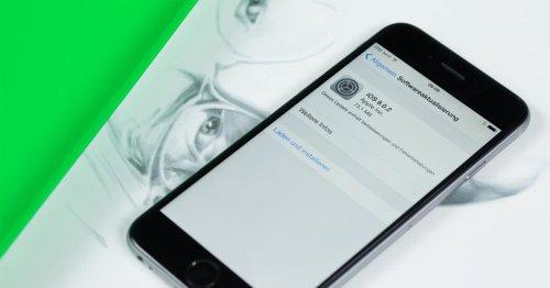 iPhone 6 bekommt Update: Diese iOS-Version solltet ihr installieren ⊂·⊃ CURVED.de