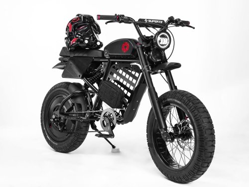 Super73-RX Electric Custom Goes to the Dark Side